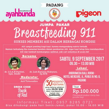 Breastfeeding 911 di Padang