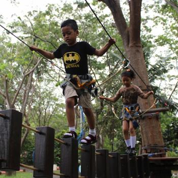 Serunya Ajak Anak Main di Allianz Ecopark
