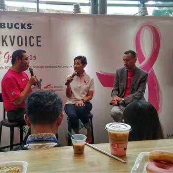 Kampanye #PinkVoice di Bulan Peduli Kanker Payudara