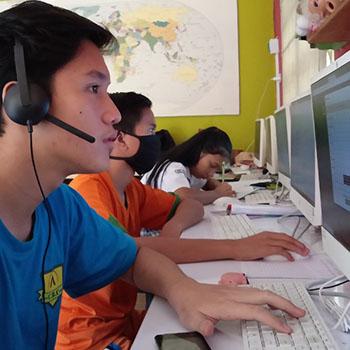 Program Digital Village & Library Untuk Anak-Anak Rentan dalam Pembelajaran Jarak Jauh