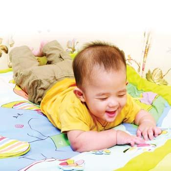 Serunya Main dengan Bayi 4-6 Bulan