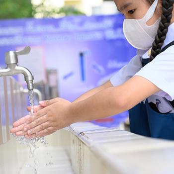 Hanya Sebagian Sekolah Memiliki Sarana Cuci Tangan
