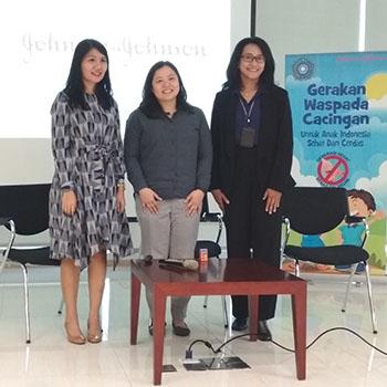 Gerakan Waspada Cacingan Tekan Infeksi Cacingan pada Anak Indonesia