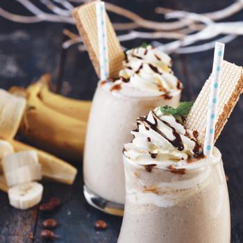 Banana Coffee Smoothies