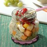 Salad Buah di Jar